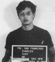 Mug shot of Charles Ng taken in 1982 (Wikipedia)